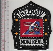 Firefighter CFL Montreal Fire Department & Alouettes Football Team Helmet Shield
