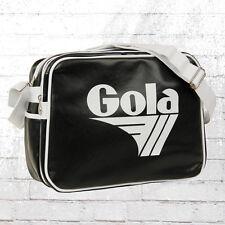 Gola Laptop Tasche Redford Alt Retro Schultertasche schwarz weiss Shoulder Bag