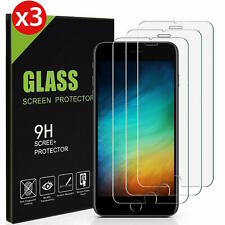 3× Panzerfolie iPhone 7 Plus iPhone 8 Plus 9H Hartglas Displayschutz Folie
