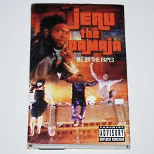 Jeru The Damaja Me Or The Papes Cassette Tape Rap Hip Hop DJ Premier Gang Starr
