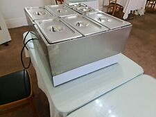 More details for parry electric double wet well bain marie (model 1985)
