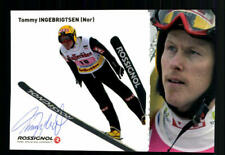 Tommy Ingebrigtsen Autogrammkarte Original Signiert + A 106221