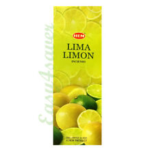 HEM LIME LEMON INCENSE STICKS PACK OF 3 (60 STICKS) -016170