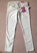 Women's Almost Famous Mint Green Stretch Jeans Size 9