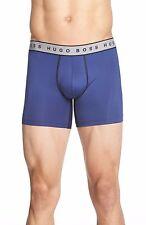 $58 HUGO BOSS Mens BOXER BRIEF Cyclist UNDERWEAR 50297388 MICROFIBER BLUE SIZE S