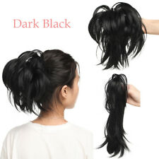"""Any Style 12"""" Claw On Ponytail Clip In Real Thick Hair Extensions Pony Tail KP3"""