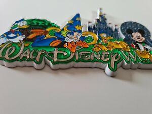 Walt Disney World Rubber Fridge Magnet