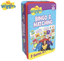 The Wiggles Bingo & Matching 2 in 1 Game Family Card Games Ugwi005tin