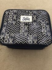 Justice Blue Chevron Lunch Bag Lunch Box GIRLS