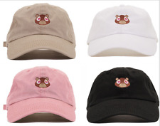 Kanye West Ye Dropout Bear Dad Hat Embroidered Drake Baseball caps Lovely