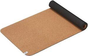 "TWO (2) New Balance Cork Yoga Mat 68""x 24"" Wide x 5mm tk"