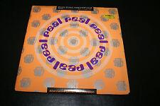 """Jesus Jones Real Real Real 7"""" (45) 4 Prints + Badge  Unplayed 1990 VG+/NM OOP"""