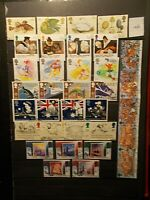 GB 1988 Commemorative Stamps, Year Set~Very Fine Used, ex fdc~UK Seller
