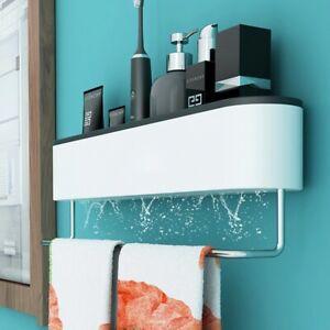 Wall Bathroom Shelf Shampoo Cosmetic Shower Storage Rack