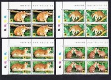 Cats Senegalese Stamps