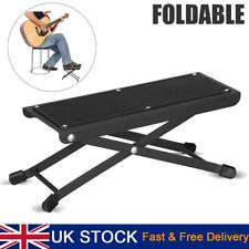 More details for adjustable guitar foot rest music classical footrest acoustic footstool stand