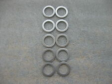 10 Pc 18Mm Oil Drain Plug Crush Washer Gaskets(P/N 90471-Px4-000)For Honda/Acura