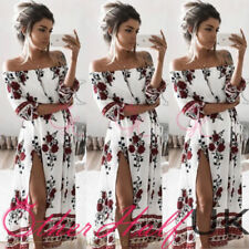Boho Party Floral Dresses for Women