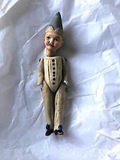 Antique 1880 S Early BISQUE PORCELAINE filaire poupée. jeune homme. RARE.