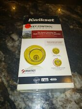 2 Kwikset Polished Brass Deadbolt 816 Series 98160-007 Smartkey Re-KeyTechnology