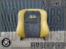LH Left Leather Seat Back 50th Anniversary VU SS Ute Parts - Remis Chop Shop