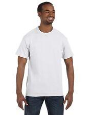 Hanes Mens Short Sleeve T Shirt Tagless Tee S M L XL 2XL 5250