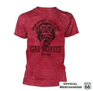 Official Gas Monkey Garage 'Custom Hot Rods' T-Shirt - Fast 'n' Loud, Route 66