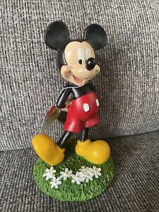 "New Disney Mickey Mouse Fairy Garden Statue Figurine 6"" tall Outdoor/Indoor!"