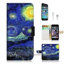 ( For iPhone 6 Plus / iPhone 6S Plus ) Case Cover Van Gogh Starry Night P0066