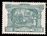 Portugal #J4 MLH CV$50.00 Da Gama Zamorin Calicut