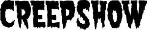 Creepshow logo vinyl decal sticker George Romero Stephen King Horror