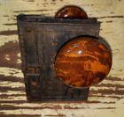 Antique Door Knobs Porcelain Brown Swirl Bennington And Lock Parts
