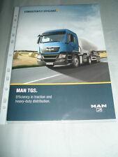 MAN TGS range brochure c2005