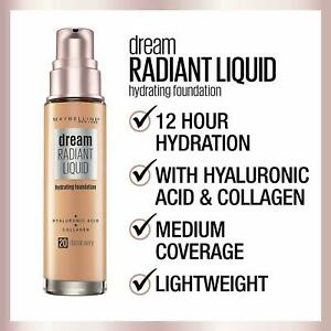 Maybelline Dream Radiant Liquid Hydrating Foundation ~ Choose Your Shade