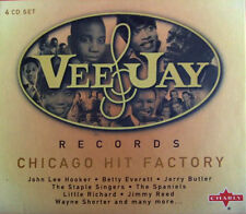 Vee-Jay Records Chicago Hit Factory 4CD Box Set - Various Artists