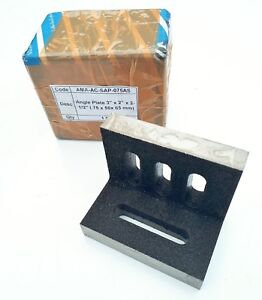 """Angle Plate slotted 3""""x2""""x2.5""""(75x50x63mm)"""