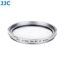 JJC Silver 40.5mm Ultra Slim Frame Multi-Coated UV Filter Camera Lens Protector