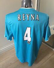 RARE Authentic Sunderland 2002-3 REYNA 4 Men's Large Away Football Shirt EXC