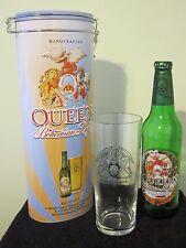 QUEEN :  Bohemian Rhapsody Beer Gift Tin + Pint Glass + Empty Lager Bottle
