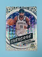 Kyrie Irving 2019-20 Panini Mosaic Silver Mosaic Prizm Overdrive Nets HOBBY ONLY