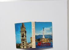 MESSINA Italy 20 Kodak Ektachrome Color Photos Souvenir POSTCARD Folder Booklet
