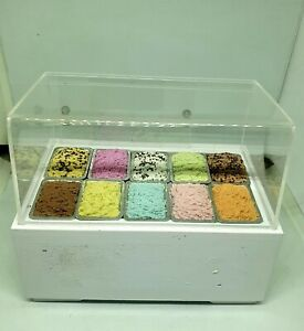1/12 dolls house miniature Icecream Shop Stand
