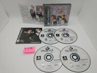 Final Fantasy VIII (PlayStation 1, PSX, PS1) with Case & Manual, Black Label