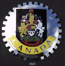 CAR GRILLE EMBLEM BADGES - CANADA (CREST)