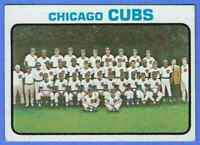 1973 TOPPS CHICAGO CUBS TEAM CARD #464