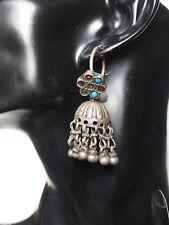 antik Orient nomaden Ohrringe afghan tribal kuchi Tussles Vintage earring 17/22