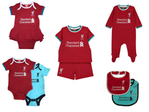 LIVERPOOL FC 2021 Clothes Bodysuit Sleepsuit Bib Shirt & Shorts Tutu Baby Gifts