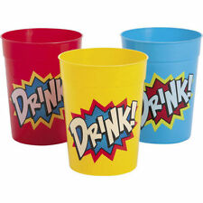 Multi Color Plastic Bathroom Tumblers