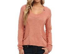 $59 Fox Racing Unruly Sweater In Orange Sherbet Size S