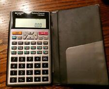 Sharp El-738 Business Financial Calculator